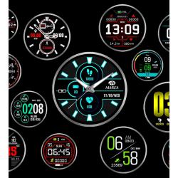 Smartwatch Marea B58004, Dorado o plateado