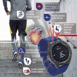 Sami Smartwatch für Männer. Aktivitätsarmband
