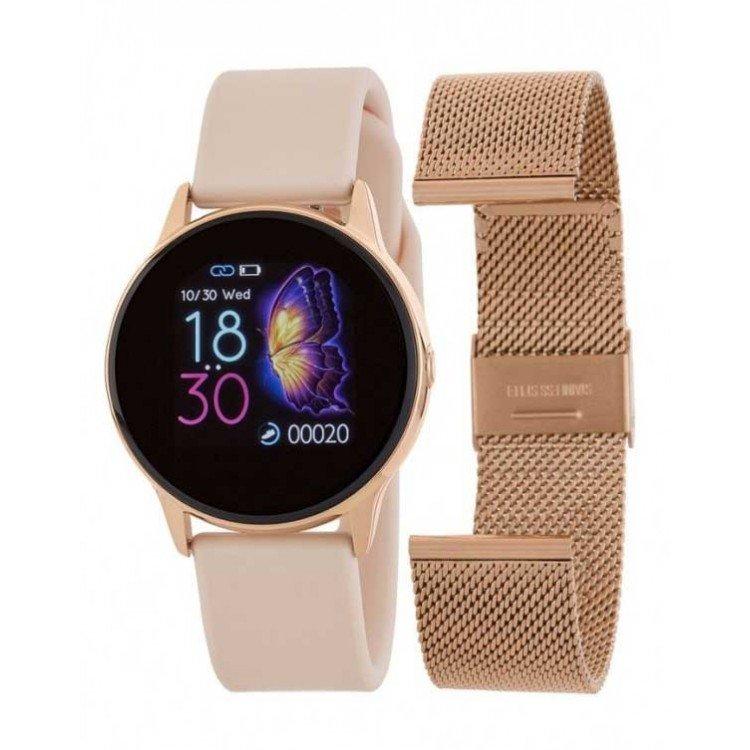 Relógio inteligente Marea B58001 com duas pulseiras