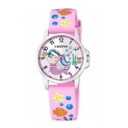 Reloj Calypso analógico para niña K5782. Sirena.