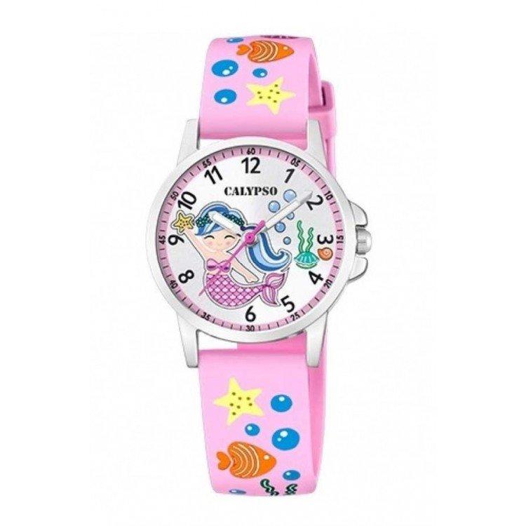Calypso analog watch for girls K5782. Siren.