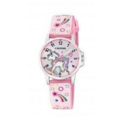 Calypso analog watch for girls K5776-5. Unicorn.