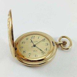 copy of Reloj de bolsillo dorado Bassel. Made in Swiss.