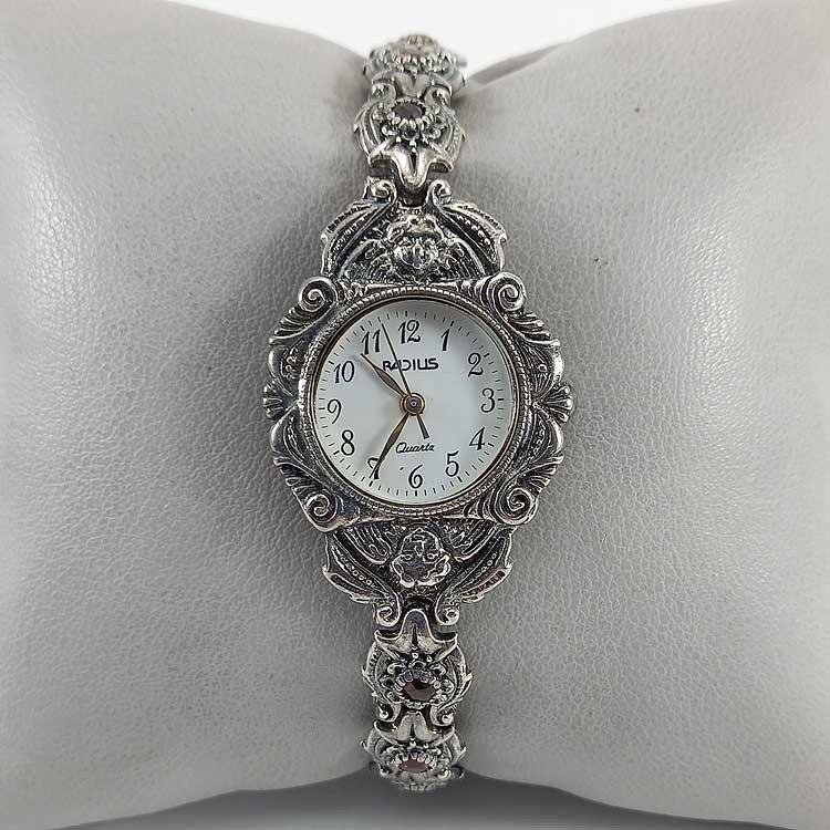 copy of Reloj de señora de plata 925 milésimas y nácar