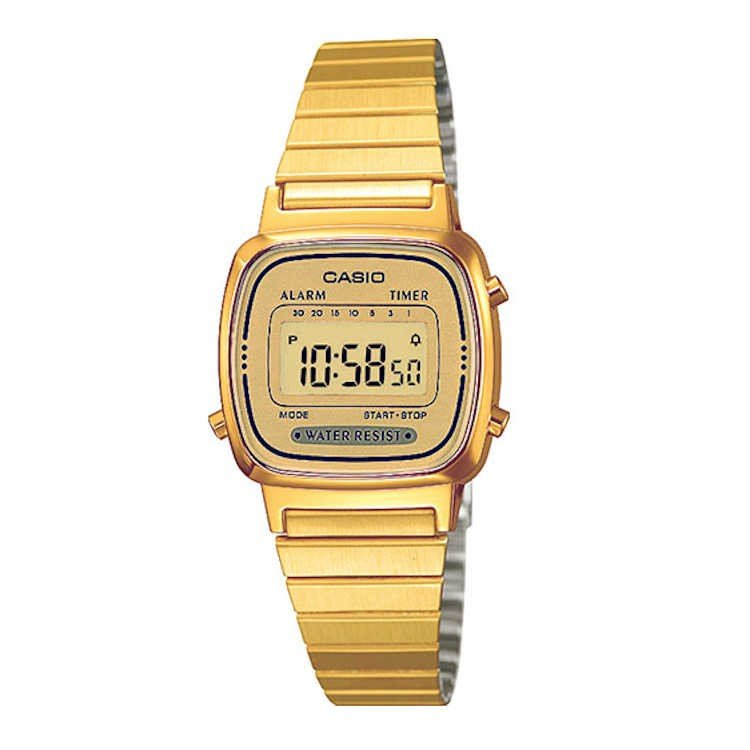 copy of Reloj Casio dorado retro vintage A168WG