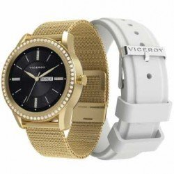 Smartwatch Viceroy 41102 para mujer en acero.