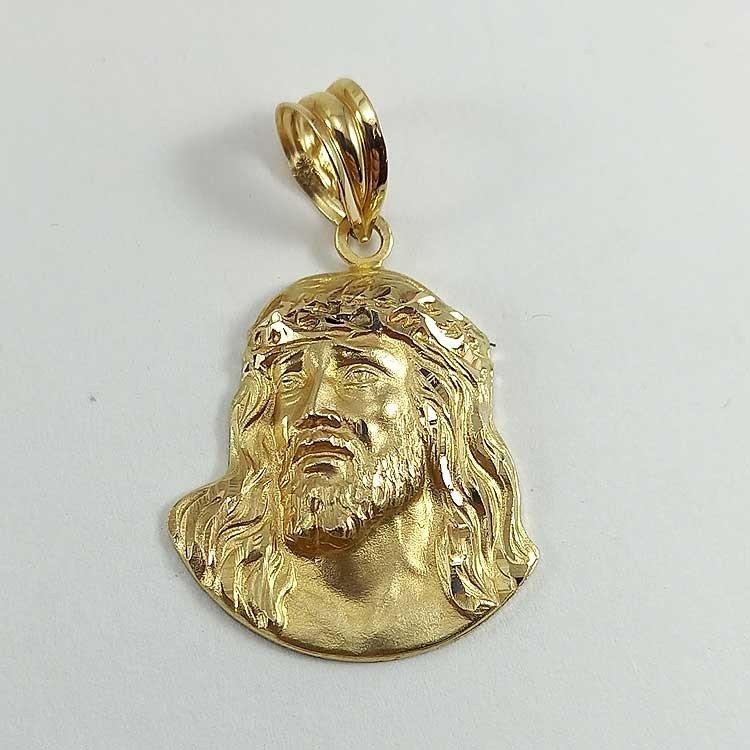 copy of Colgante de Cristo en oro de primera ley 18 quilates