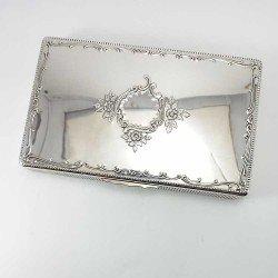 copy of Caja decorativa ovalada de plata de ley 925 mls.