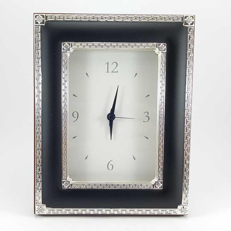 copy of Conjunto de reloj y portarretratos de plata bilaminada