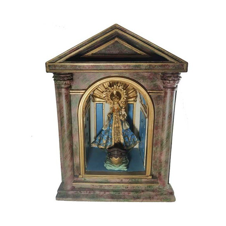Camarín (capilla) de la Virgen de la Barquera