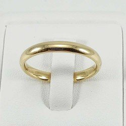 copy of Aros de matrimonio lisos hechos a mano. Oro de ley 18k. Varios tamaños.
