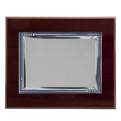 copy of Placa homenaje de aluminio con los bordes en relieve