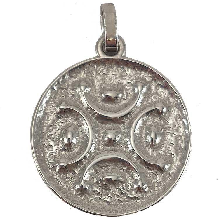 Medalla del Lábaro Cántabro en plata de ley 925 mls.