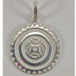 Colgante de la Estela de Barros en plata 925 mls.