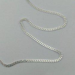 copy of Cadena barbada de plata de ley 925 mls. 50 cm.