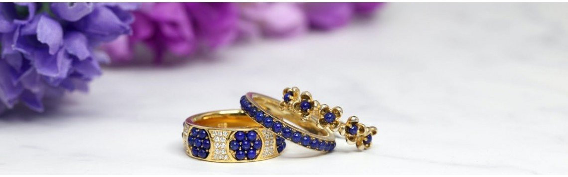 18 karat yellow, white or rose gold jewelry