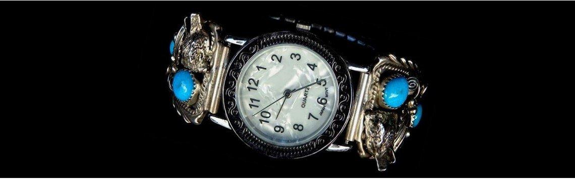 Relógio de prata esterlina 925 mulheres. Estilo retro prateado antigo