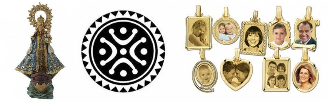 Diferentes coleções originais de joias em ouro, prata e presente.